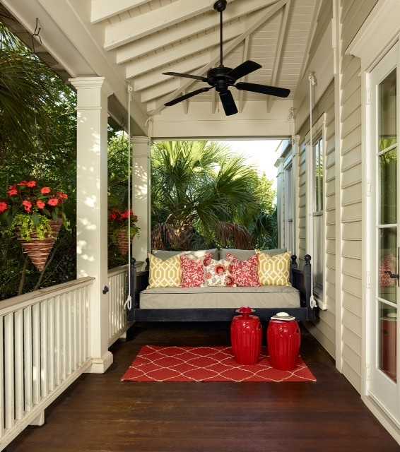 Charming Small Porch Swing Ideas You Will Love Decohoms