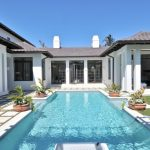 Spice Tampa Bay Pool Outdoor Living Room Grey Ceiling Rectangular Pool