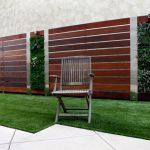 vertical garden plans grass flooring ceramic wood armchairs fence metal frame modern design