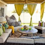 Ways To Hang Curtains Sofa Pillows Chair Round Top Table Hammock Window Carpet Eclectic Patio