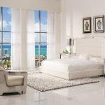 White Bedroom Furniture For Adults Pembroke Square Bed Amia White Mirrored Cabinet Aviator White Leather Sofa