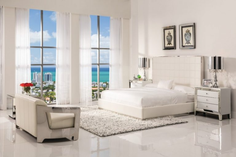 fancy white bedroom furniture for adults decohoms 20140 | white bedroom furniture for adults pembroke square bed amia white mirrored cabinet aviator white leather sofa 768x512