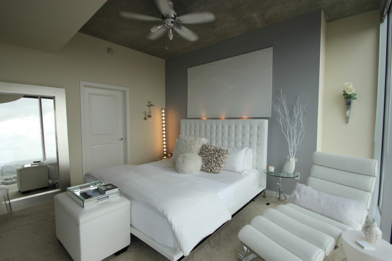 white bedroom furniture for adults white modern bedroom lighting chic high rise white square bench white chair white table