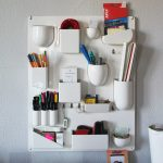 White Wall Organizer In So Many Shapes To Keep Small Stuffs