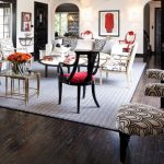 Accent Chairs With Black And White Patterns Black And Red Accent Chairs Coffee Table Accent Rug Medium Toned Wooden Floors