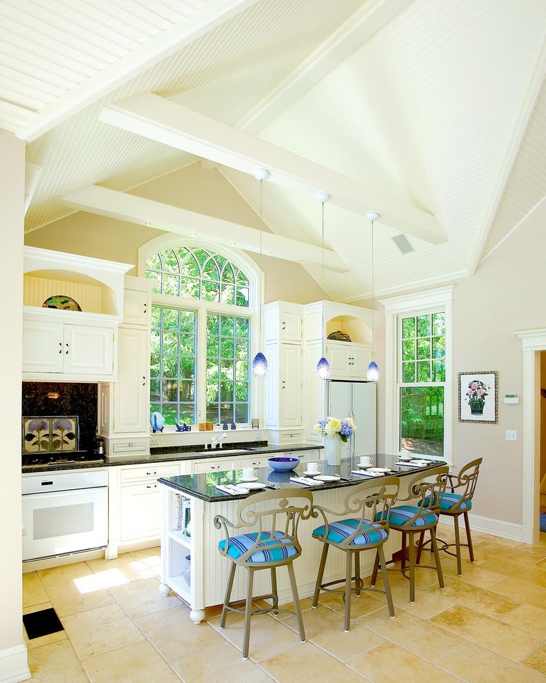 beadboard kitchen island satin nickel signature 1 light pendant antique barstools blue accent kitchen large kitchen windows and shutter