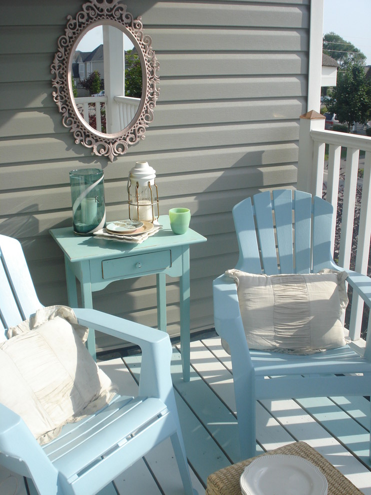 best deck paint chairs tables mirror railing pillows traditional porch