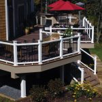 Best Deck Paint Flowers Stairs Chairs Table Railings Outdoor Area