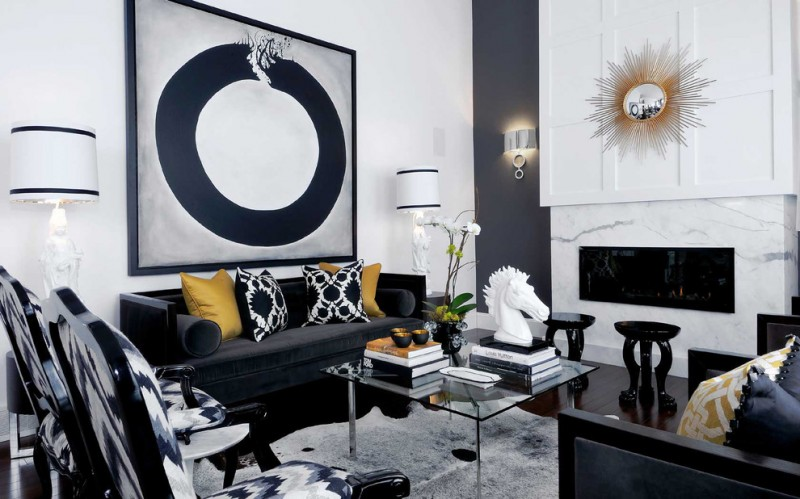 black and white room decorations black and white family room barcelona coffe table big o art black and white painting sunrise mirror modern fireplace