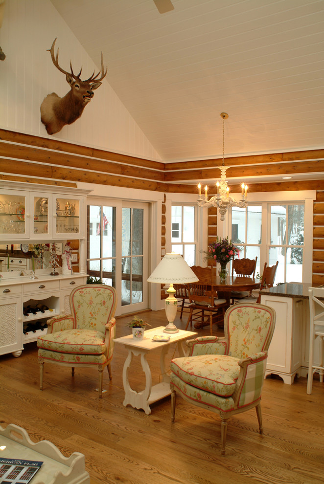 cabin designs and floor plans light coloured wood floor glass front cabinet white ceiling chandelier shabby chic style living room