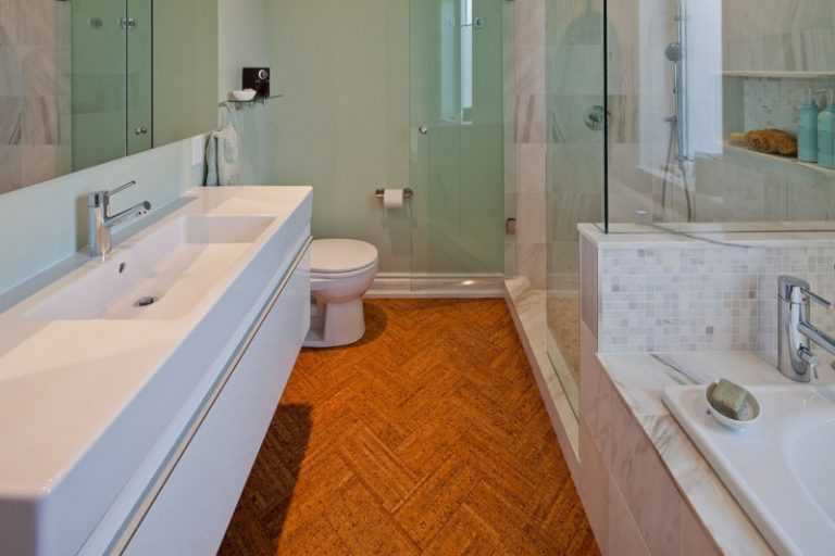 sustainable bathroom flooring eco friendly cork flooring for bathroom ideas decohoms 14600