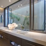 Fleetwood Windows And Doors Drawers Towels Ceiling Lights Contemporary Bathroom