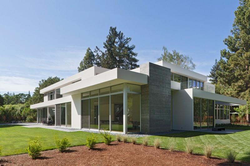 fleetwood windows and doors grass contemporary exterior outdoor area