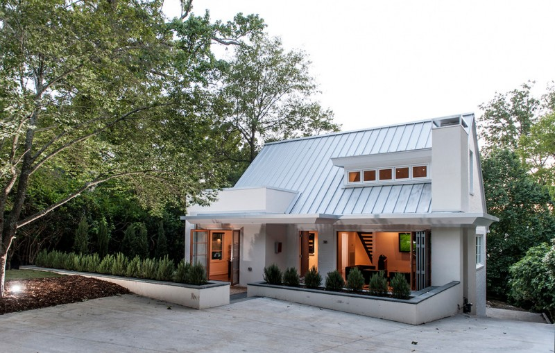 house plans for small homes tiny windows cool doors roof decorative plants trees lights transitional exterior