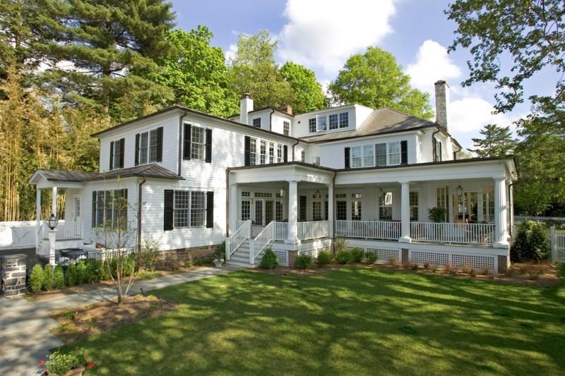 house skirting ideas grass pillars windows stairs railings traditional exterior