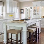 kitchen cabinets clearance wood floor stools island raised panel cabinet traditional room