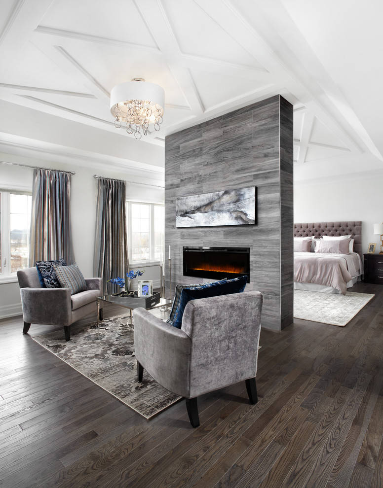 living spaces bedroom sets gas fire bed couches hardwood floors table carpet chandelier sidetable window curtains transitional design