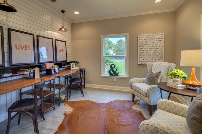 office decor ideas for work desk chairs plant lamps window powerful words ceiling lights farmhouse home office