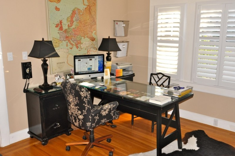 office decor ideas for work small carpet window beautiful floor chair with floral patterns desk monitor cool lamps map wall storage contemporary home office