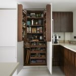 Organization Ideas For Small Spaces Cabinetry White Countertop Base Units Floor Contemporary Design