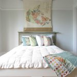 Paris Inspired Bedroom Bed Pillows Shabby Chic Style Room