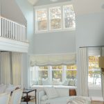 popular colors for living rooms sofas chairs daybed railing ottoman white floors sidetable windows blinds beach style