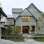 small victorian house plans gable roof garage doors light fixtures windows stone steps pavers