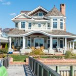 small victorian house plans steep gable roof column windows double doors railing patio deck victorian design