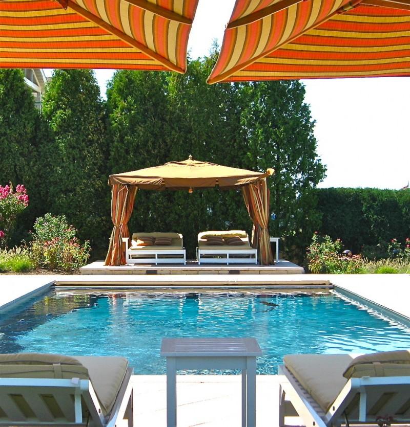 square gazebo plans swimming pool gazebo platform beds swimming pool chairs with orange and yellow umbrella gazebo curtain