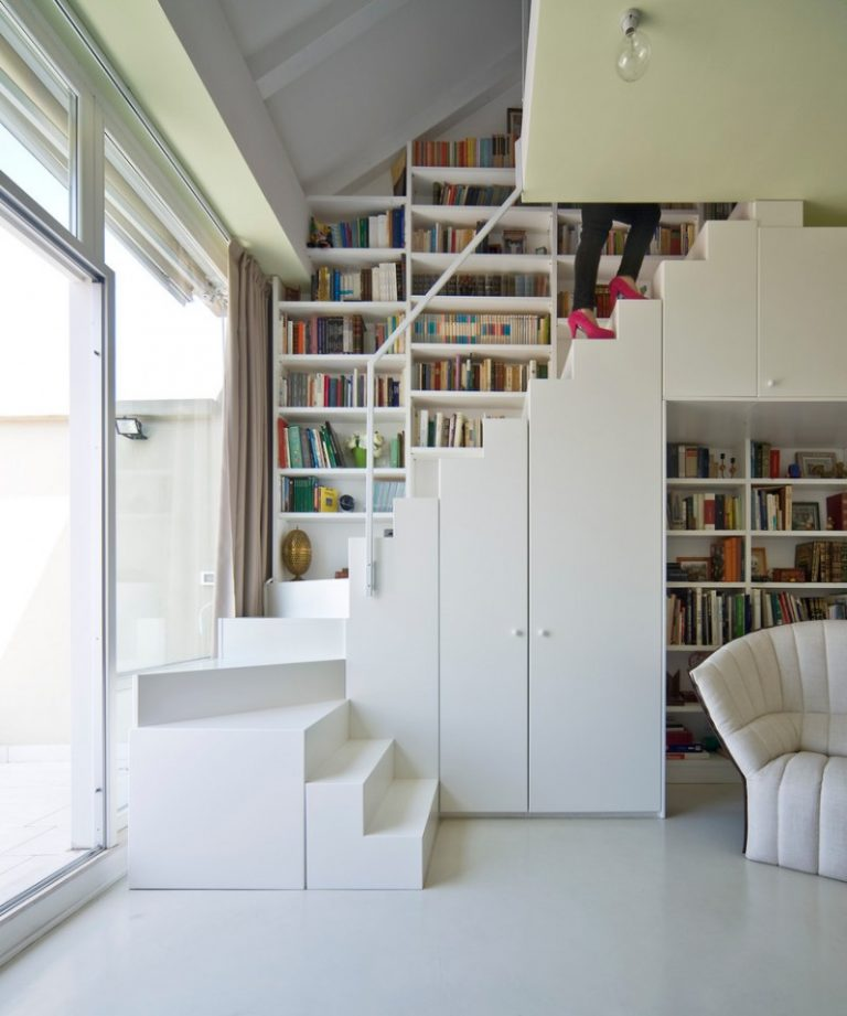 The Best Stair Step Bookcase Combos To Be In Awe Of Decohoms