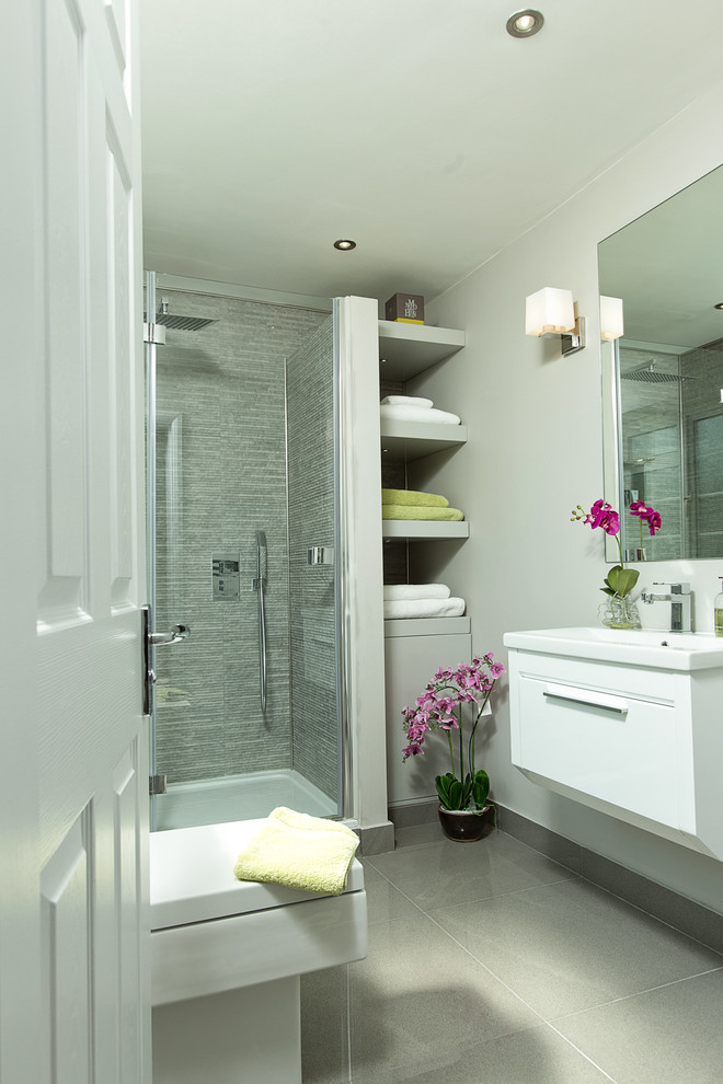 storage solution for small bathroom shelves flowers mirror shower lamp ceiling lights transitional room