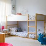 Toddler Bunk Bed Plans Blue Trumpette Howdy Bouncy Rubber Cow Low Bottom Bed Small Bedroom White Curtain Nice Glass Table Smooth Rug Wooden Bunk Bed