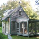 Very Small House Plans Chairs Window Covered Porch Door Cool Walls Roof Traditional Exterior