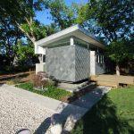 very small house plans grass walls trees tiny windows cool contemporary exterior