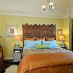 Asian Themed Bedroom Vietnamese Silk Duvet Cover And Shams Custom Silk Drapery 3 Light Chandelier Green Wall Polca Dot Orange Blanket Chinese Storage Wide Mirror