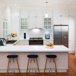 Black And White Kitchen Classico Mini Pendant Light Black Bar Stools White Kitchen Cabinet Black Clock Black Sink