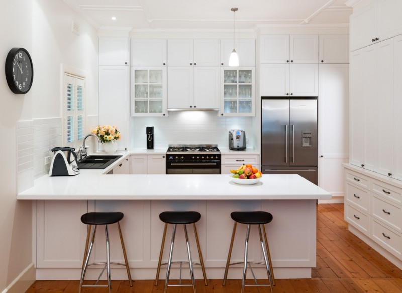 kitchen w white cabinets spectacular black and white kitchen ideas you can apply 22120