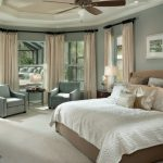 Candice Olson Bedding Candice Comforter Brown Bed With Headboard Cream Pillows Antique Ceiling Fan And Lamp