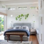 Small Master Bedroom Ideas Sliding Glass Door With Roman Shades Comfy Bed And Headboard Wall Decor 2 Nightstands