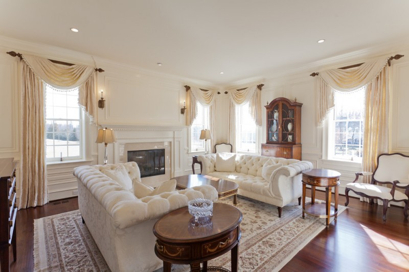 valances for living room hand knotted rug circle wooden side table tufted sofas table beautiful valances and drapes windows wood flooring