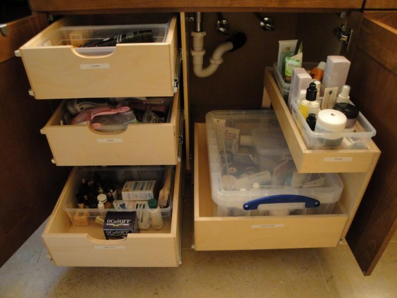 vanity organization ideas custom pull out shelves roll out shelves shelving systems slide out shelves bathroom sink wooden vanity