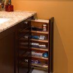 Vanity Organization Ideas Kohler Grab Bar Dark Wooden Vanity Pull Out Vanity Drawers With Nice Knobs Marble Countertop