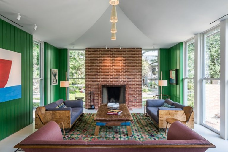 Amazing And Comfortable Mid Century Living Room Decohoms