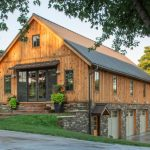 Pole Barn House Plans Frame Garages Loft Post And Beam Rustic Standing Seam Metal Roof Stone Siding Timber Frame Wood Barn