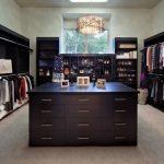 Black Cabinet Closet Island Ceiling Light Drawer Shoe Shelf Open Shelves
