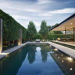 Pool Trees Patio Hedges Pool Lights Recessed Lights