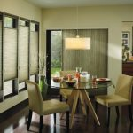 Green Dining Room Green Chairs Green Window Shades Vertical Shade For Glass Sliding Door Glass Table With Wood Legs