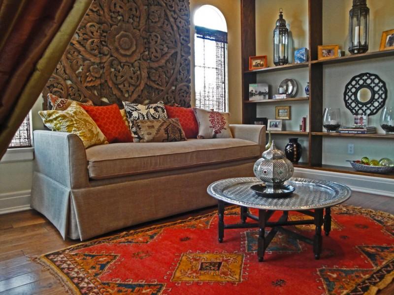 moroccan coffee table authentic moroccan rug carved moroccan screen moroccan accents moroccan lanterns reading nook