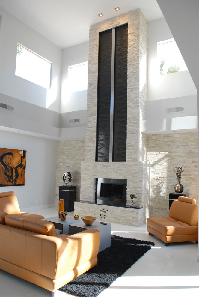 black rugs for living room light brown sofa and armchairs coffee table fireplace artwork glass windows recessed lighting