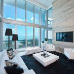 Black Rugs For Living Room White Furniture Black And White Artwork Black Floor Lamp Black Throw Pillow Wood Wall
